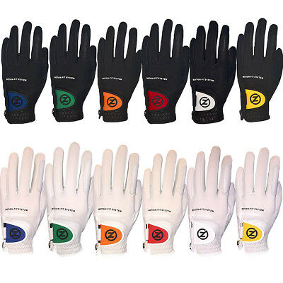Zero Friction Johnny Miller Motion Fit Golf Gloves - One Size