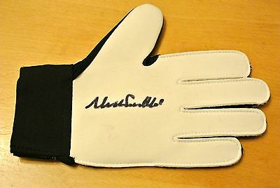 Neville Southall Hand Signed Autograph Goalkeeper Glove Everton See Proof & Coa