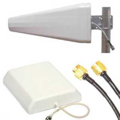 Repeater for GSM GPS UMTS LTE stable incl. 2x Aerial