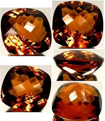 Handcrafted 37ct Russia Citrine Ancient Persia Rome Crystalized Sunshine Essence