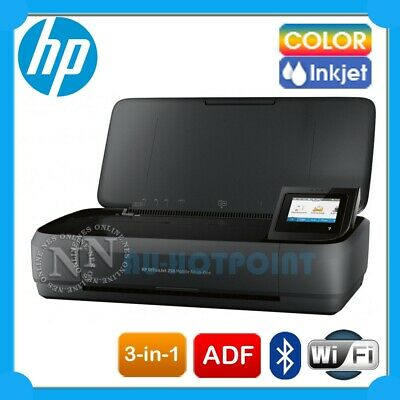HP Officejet 250 3in1 Inkjet Wireless Portable Mobile Printer+ADF+ePrint CZ992A
