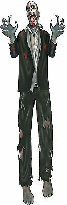 """Zombie 60"""" Jointed Cut Out, Halloween Party Accessory Prop/Room Decoration #CA"""