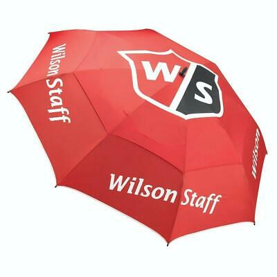 "Wilson Staff Golf Pro Tour Double Canopy Umbrella 68"" (Red)"