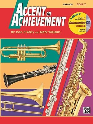 Accent on Achievement, Book 2, Bassoon, 18257