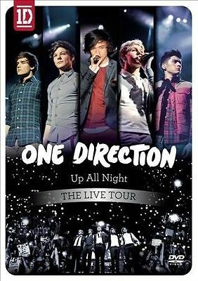 One Direction: Up All Night - The Live Tour DVD, 2012 NEW