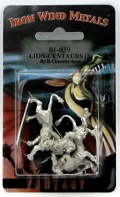 Ral Partha 01-039 Lion-Centaurs (Monsters) Wemic Warriors Fighters Rangers Cats