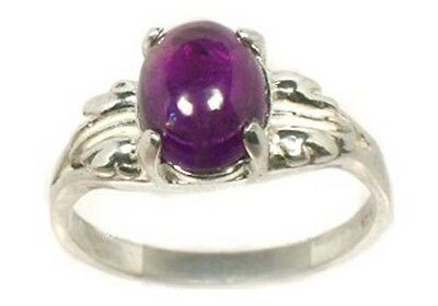 18thC Antique 2ct Scotland Amethyst 12th Foundation Stone Post-Rapture Holy City • CAD $213.58
