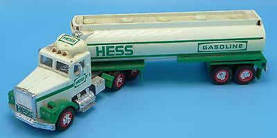 1990 Hess Toy Tanker Truck Working Lights Horn Amerada