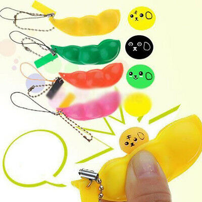 Novelty 1Pcs Artifical Soybean Plastic Kids Release Pressure Squeeze Toys Gift