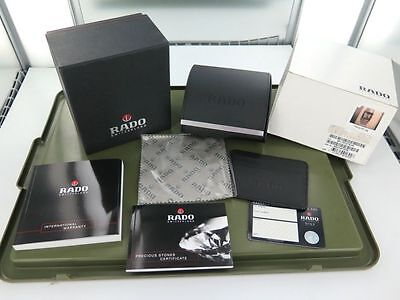 .vintage / Collectable Rado Display Box, Outer Box,  Booklets Etc.