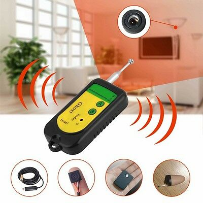 1*Portable Anti-Spy Signal RF Detector Hidden Camera GSM Wireless Device Finder