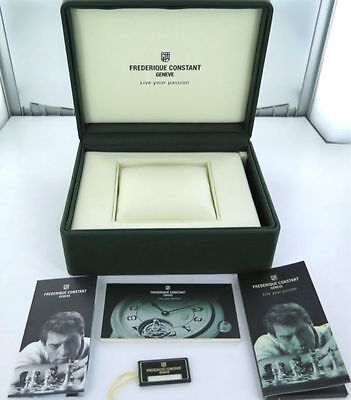 .frederique Constant Heart Beat Automatic Vintage / Collectable Display Box.