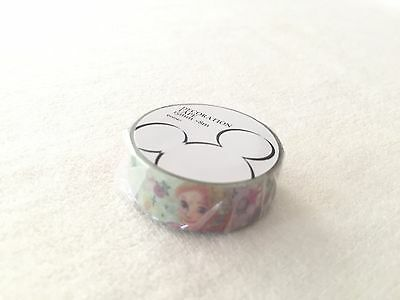 Disney Minnie Mouse Rapunzel Tinker Bell gre paper tape NEW 15mm x 8m washi tape