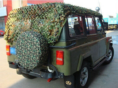 Camouflage Jungle Woodlands Camo Net Netting Cover Camping 1x1 2x2 2x3 2x4 3x3 M