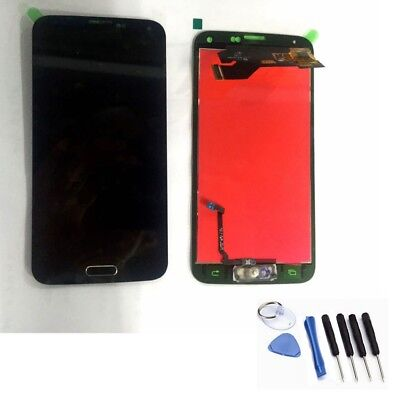 Samsung Galaxy S5 G900F LCD Display Screen replacement Touch Digitizer Black NEW