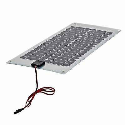 20W Watt Semi Flexible Solar Panel for 12V Battery Charging Boats Caravans RV