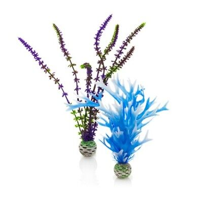 BIORB PLASTIC EASY PLANTS (2 in pack) BLUE/PURPLE MEDIUM SIZE PL05 0822728002933