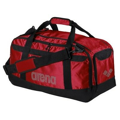 NEW Arena Navigator Swim Bag Red Sports Water Proof Duffels Shoulder Straps