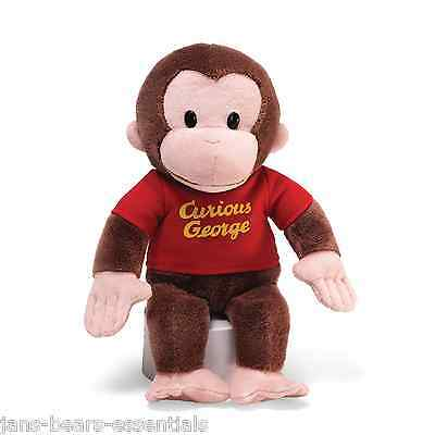 Gund - Curious George in Red Shirt - 12""