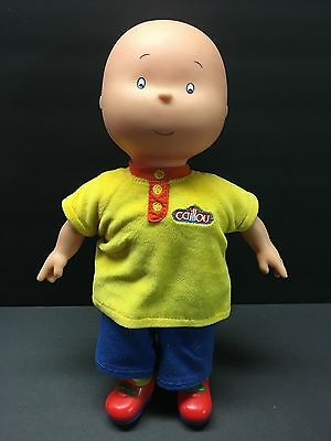 "PBS Kids Caillou TV Show 14"" Plush Stuffed Doll"