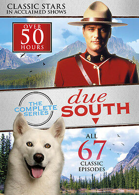 Due South: The Complete Series [8 Discs] (2014, REGION 1 DVD New)