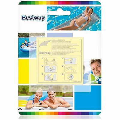 BESTWAY - 10 x HEAVY DUTY 6.5cm REPAIR PATCHES for Lilos & Pools