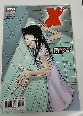 X-23 #2  Marvel Next Origin Story  Marvel 2005 VF