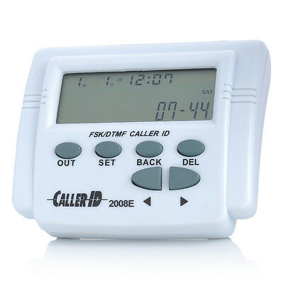 FSK/DTMF Mobile Telephone Caller ID Box Phone LCD Display call history