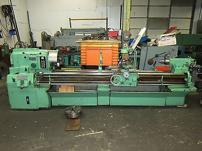 "Monarch 20x102"" Lathe With Taper Attachment, Aloris Toolpost, Chucks, & more"