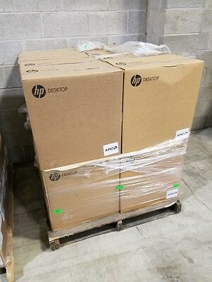 Lot of 33 NEW HP Pro 6305 desktops SFF 500GB 4GB RAM Windows 7 DVDRW SEALED