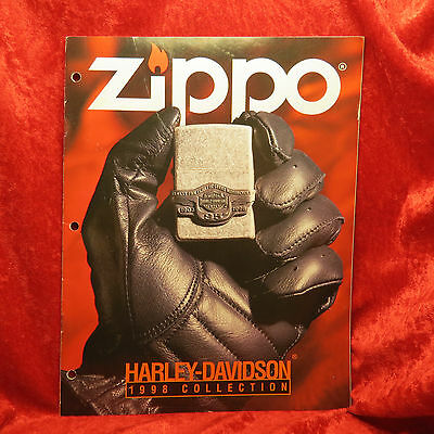 Rare Zippo 1998 Harley    Lighter Collection Catalog