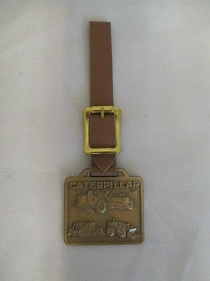 D2 Syracuse Supply Co New York  - Caterpillar Watch Fob - Bulldozer & Tractor