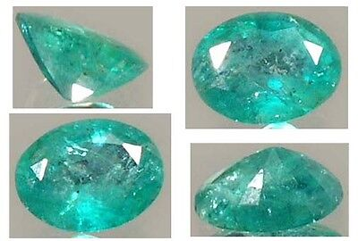 Antique 19thC 1½ct Emerald 4,000 BC Ancient Egyptian Mines Pharaoh Sesostris Gem • CAD $952.67