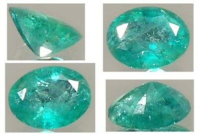Antique 19thC 1½ct Emerald 4,000 BC Ancient Egyptian Mines Pharaoh Sesostris Gem
