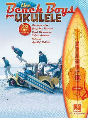 NEW The Beach Boys for Ukulele by Paperback Book (English) Free Shipping
