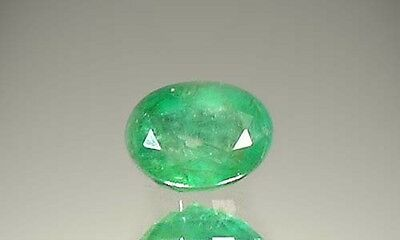 19thC Antique 1½ct+ Siberian Emerald Gem of Ancient Greece Aristotle Plato 400BC