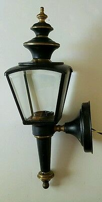 Porch Light Sconce by Sturdy Lantern Mfg Carriage Lamp Style USA Made
