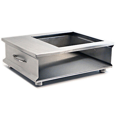 Stainless Steel Butane Stove Cover for Cooking Station Presentation Food Service