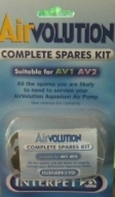 Interpet Airvolution Air Pump Spares Kit Av1/av2