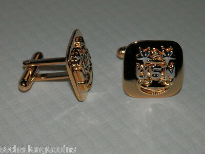 US Navy Cuff Links E9 Master Senior Chief Petty Officer CMPO USN