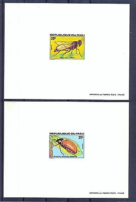 Mali 1978 Insects Deluxe Proofs. MNH F (Dirty)
