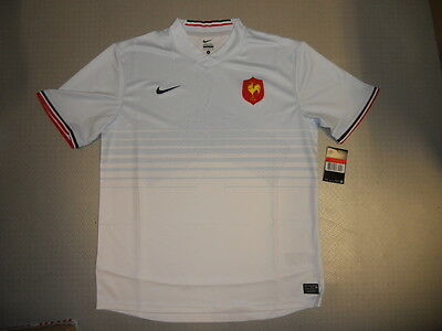Supporters Jersey France Rugby 11/12 Orig. Nike Sz S M L XL XXL new France