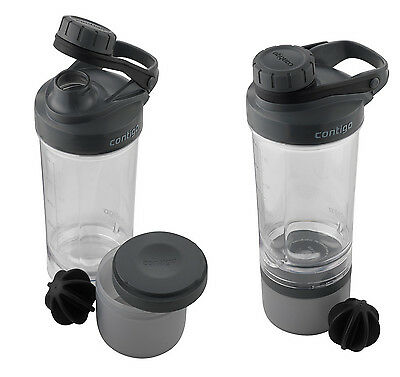 Contigo Shake & Go FIT + compartment 650 ml (PROFI Shaker Mixbecher)