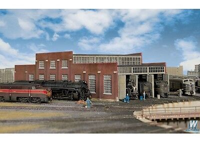 Walthers Cornerstone 933-3261 N Scale Modern Roundhouse 3 Add-On Stalls Kit