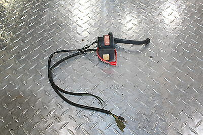 1989 Honda Elite 80 Ch80 Right Clip On Handle Kill Off Start Switch Switches