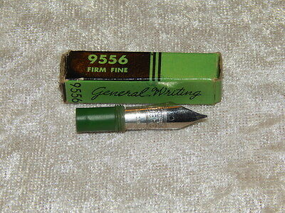 Very Nice Vintage Esterbrook 9556 Firm Fine Nib In Original Box NOS #2