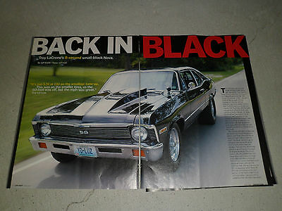 1971 CHEVROLET NOVA #5 article / ad