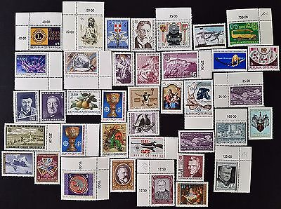 Austria 1970s Mint MNH Stamps Collection All Different Lot #1