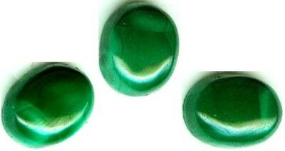 18thC Antique 4¼ct Malachite Ancient Talisman Sorcery Danger Disease Protection