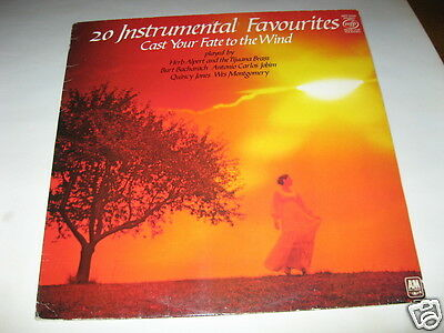 Various - 20 Instrumental Favourites Cast Your Fate To The Wind